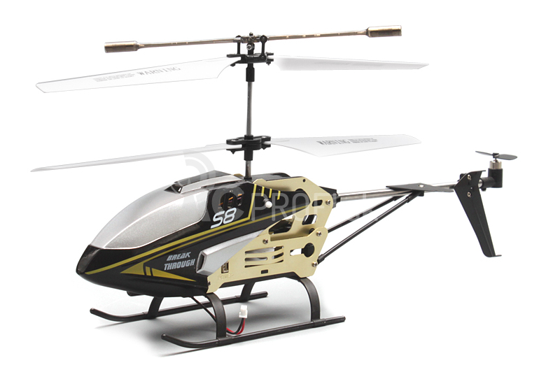 RC vrtuľník Syma S8, čierna