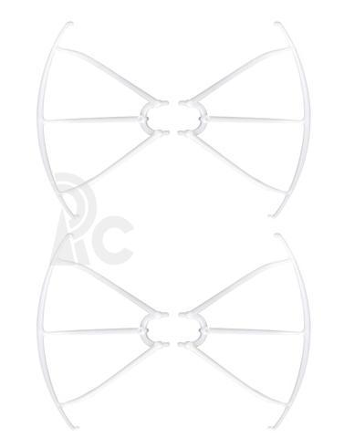 Syma X5C-03 kryty rotorových listov, biela