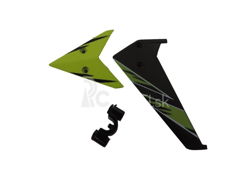 WL toys S929-03 chvostové stabilizátory zelené