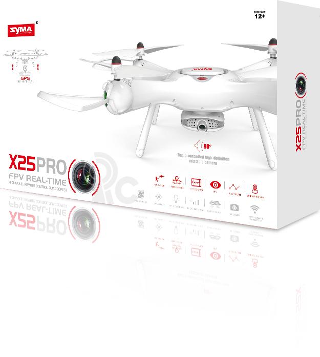 Dron Syma X25PRO + náhradná batéria