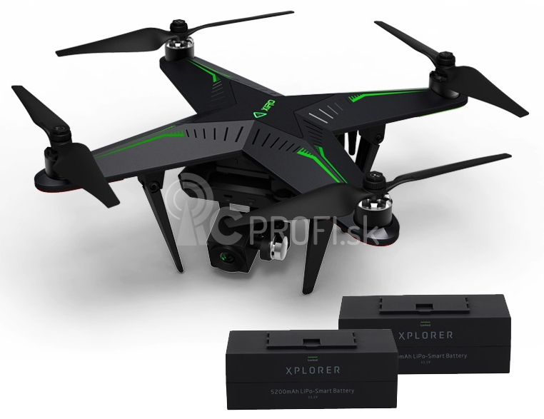 RC dron XIRO Xplorer V + náhradná batéria